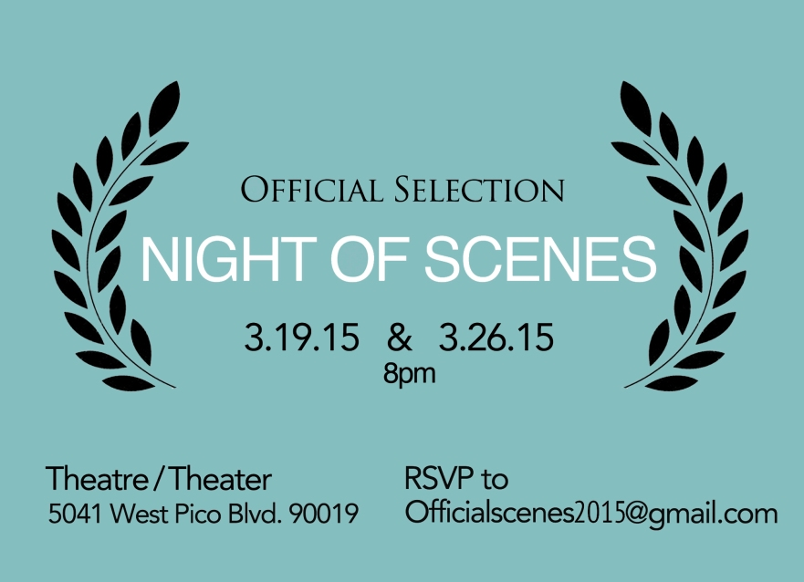 Official Selection: Night of Scenes